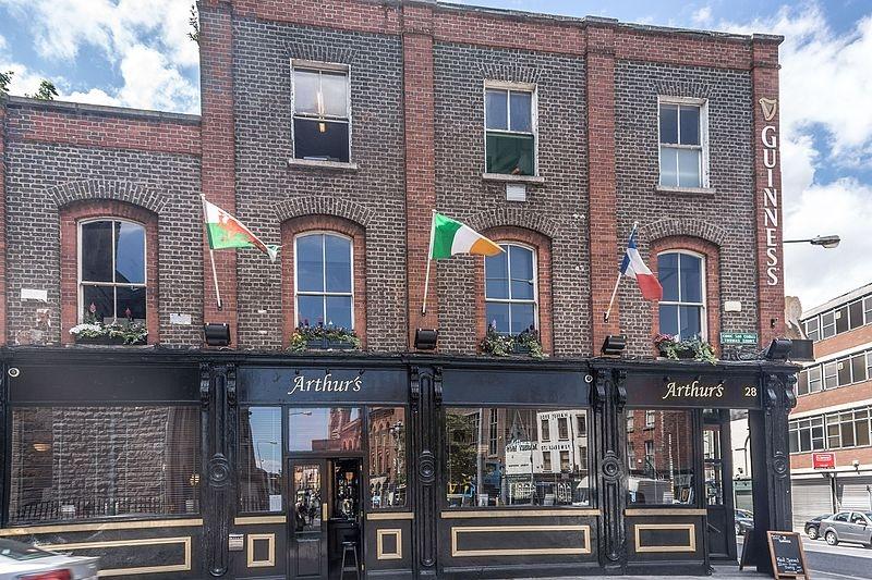 Arthurs pub front shop