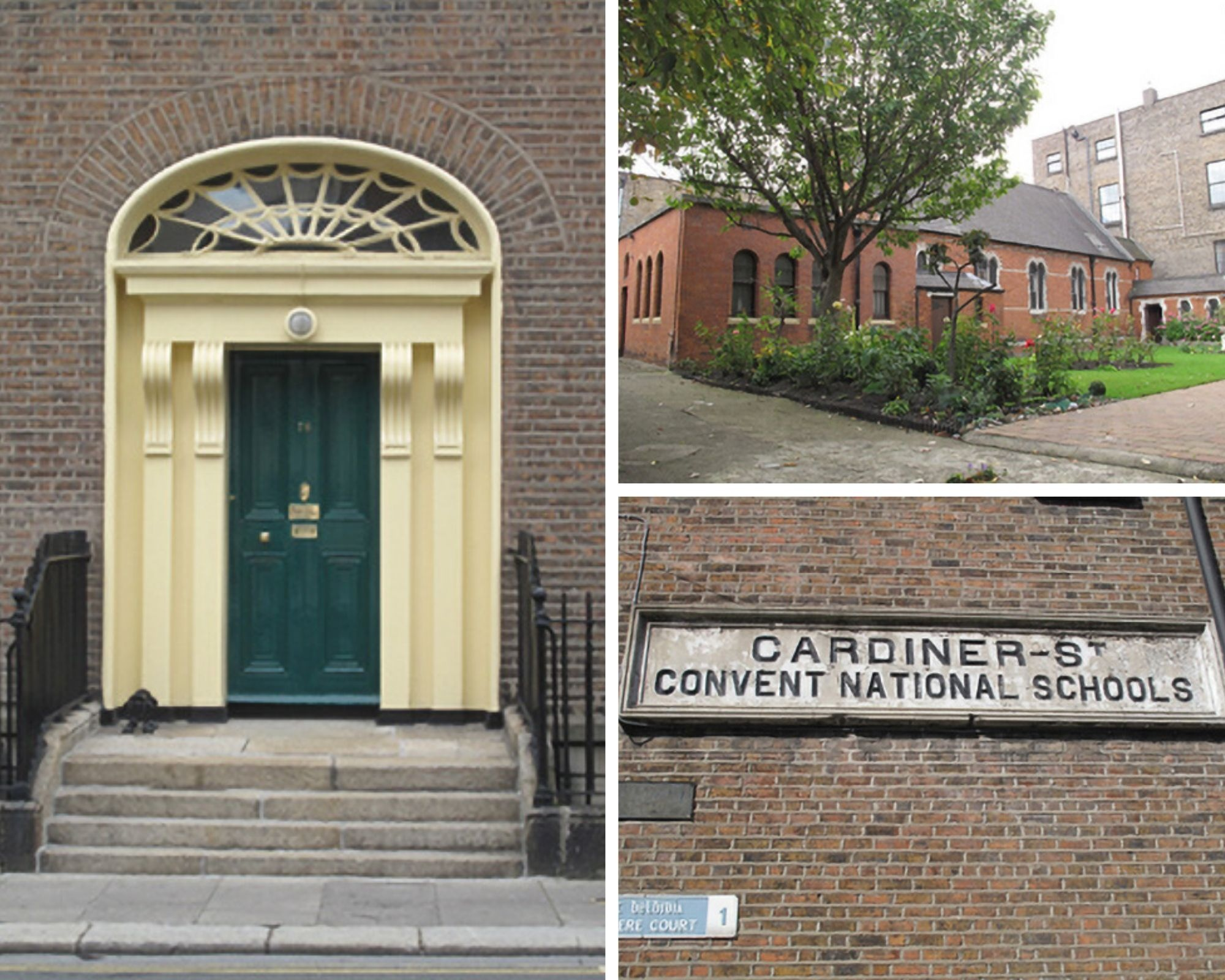 Three pictures of the Gardiner Street Convent